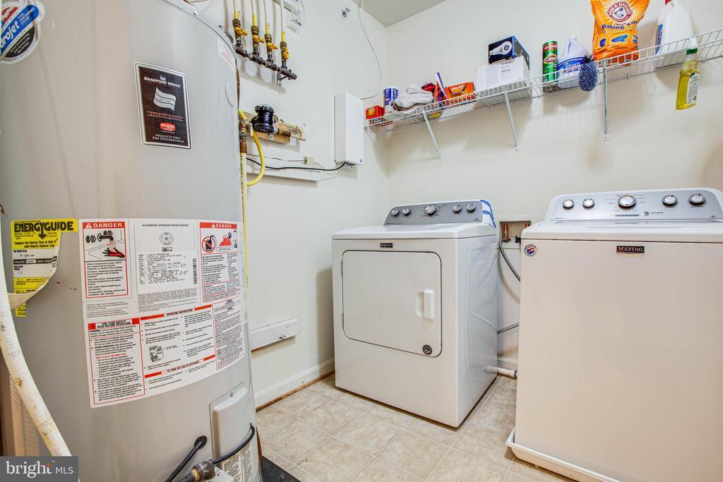 Utility / Laundry Room - 1847 CEDAR COVE WAY #201, WOODBRIDGE
