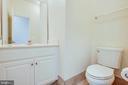 Main Level Half Bathroom - 1847 CEDAR COVE WAY #201, WOODBRIDGE