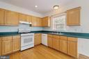 Kitchen with Lots of Cabinet Space - 13433 CATAPULT LN, BRISTOW