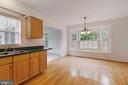 Kitchen with Breakfast Area - 13433 CATAPULT LN, BRISTOW