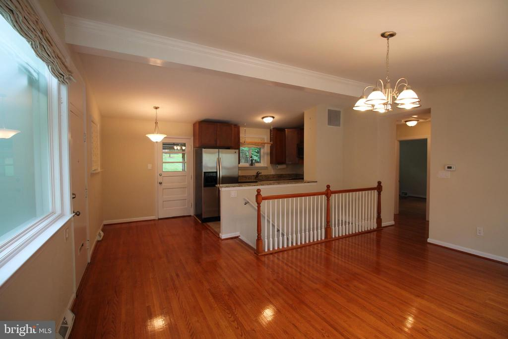 Hardwood Floors Throughout Main Level - 4004 DENFELD AVE, KENSINGTON
