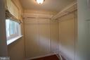 Owner's Walk-in Closet - 4004 DENFELD AVE, KENSINGTON