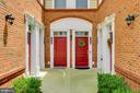 Courtyard entry - 43047 STUARTS GLEN TER #116, ASHBURN