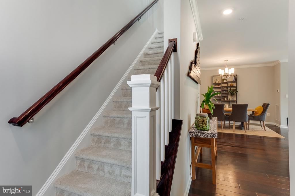 Stairs to Upper Level - 43047 STUARTS GLEN TER #116, ASHBURN