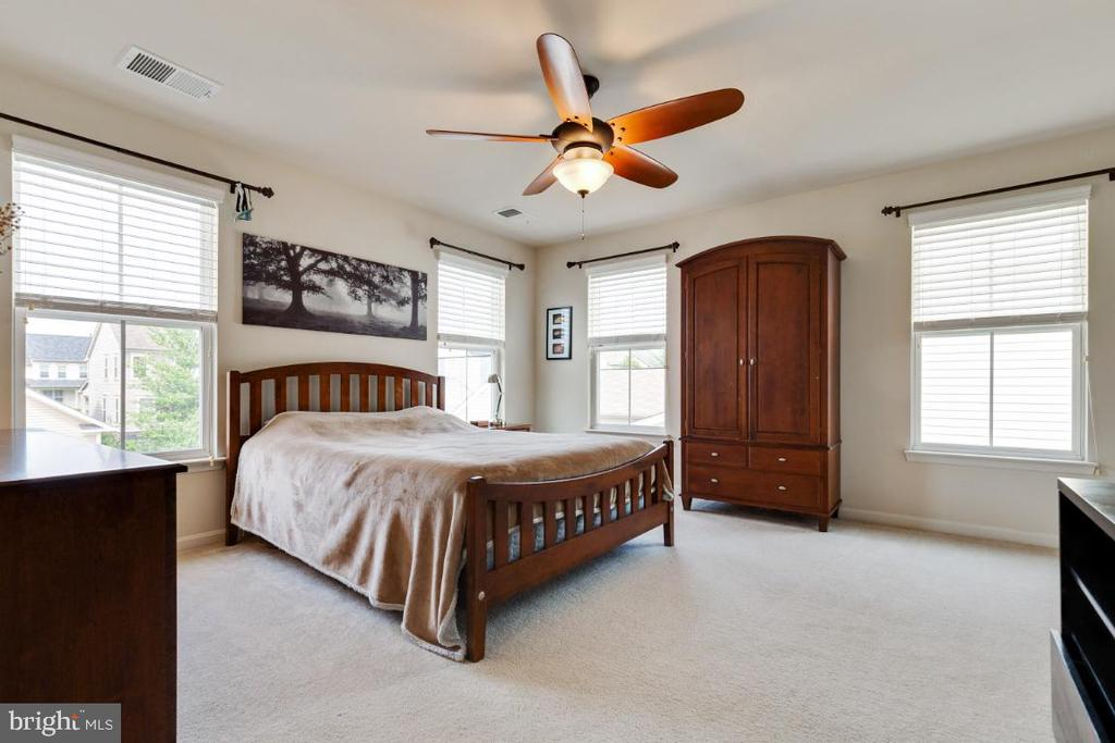 Large Master Bedroom Suite - 23402 HIGBEE LN, BRAMBLETON