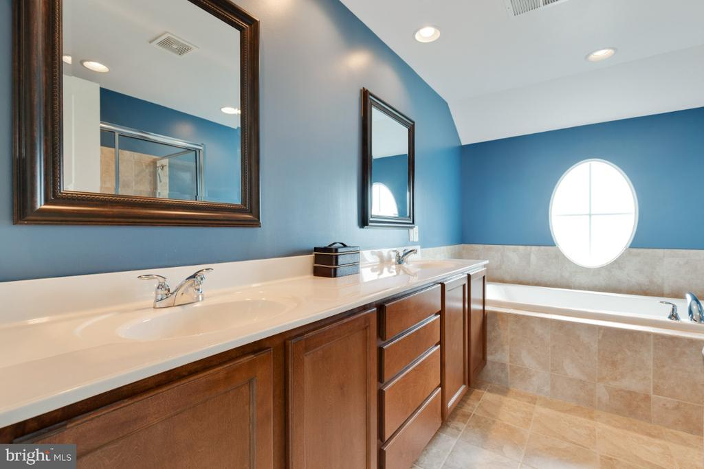 Updated Master Bathroo with Soaking Tup & Shower - 23402 HIGBEE LN, BRAMBLETON