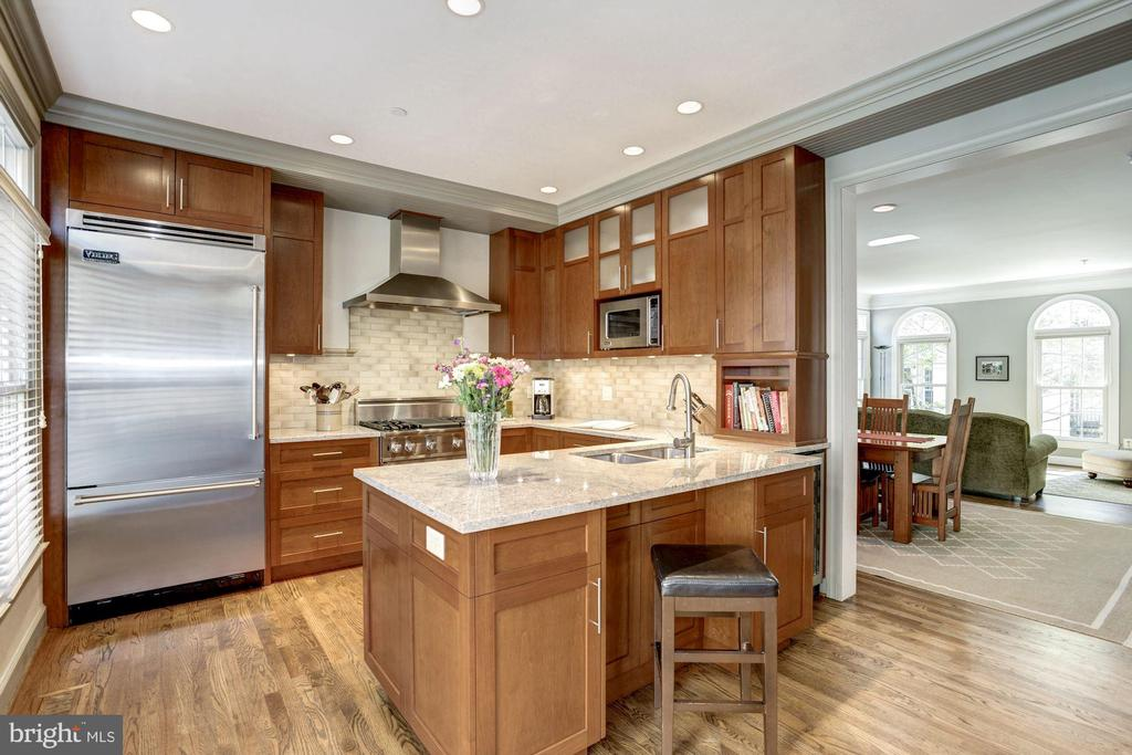 Professional kitchen designed for a gourmet chef - 1330 N ADAMS CT, ARLINGTON