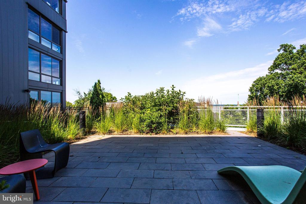 View from courtyard #1 - 4101 ALBEMARLE ST NW #618, WASHINGTON