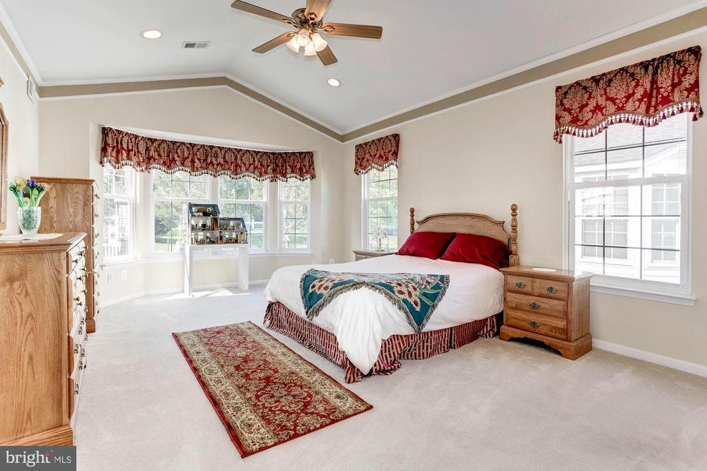 Spacious Master Bedroom with Bay Window - 3854 CHAMPION OAK DR, DUMFRIES
