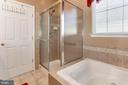 Master Bath Shower - 3854 CHAMPION OAK DR, DUMFRIES