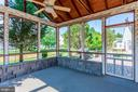 Screened Porch with Fan - 3854 CHAMPION OAK DR, DUMFRIES