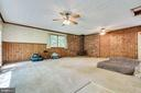 Huge Family Room off the kitchen - 7771 CLIFTON RD, FAIRFAX STATION
