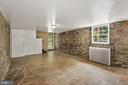 Daylight Bright Basement: windows & rear walkout - 3209 19TH RD N, ARLINGTON
