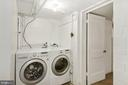 Laundry room with Newer appliances - 3209 19TH RD N, ARLINGTON