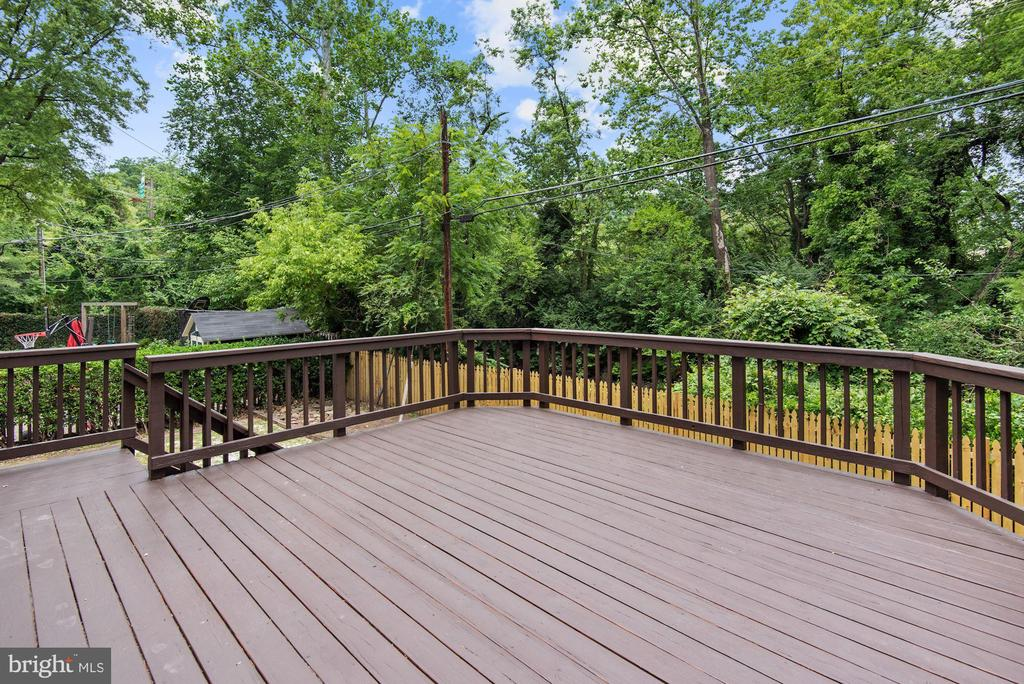 Nice view from deck / Setting Private - 3209 19TH RD N, ARLINGTON