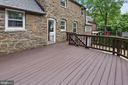 New large deck for entertainment - 3209 19TH RD N, ARLINGTON