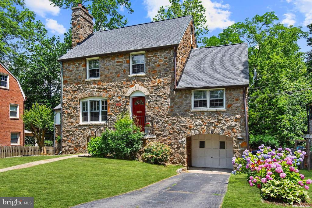 4 levels all stone colonial with car garage - 3209 19TH RD N, ARLINGTON