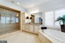 Master Bathroom - 9637 MAYMONT DR, VIENNA