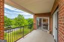 Amazing mountain views from your patio - 117 EASY ST #31, THURMONT