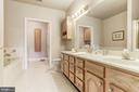 Dual vanities in the master bath - 117 EASY ST #31, THURMONT