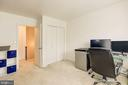 Large Bedroom on the 3rd floor - 6010 CHESTNUT HOLLOW CT, CENTREVILLE