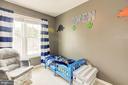 Bedroom 3 on 3rd floor - 6010 CHESTNUT HOLLOW CT, CENTREVILLE