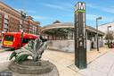 Petworth metro, just a few blocks away - 432 MANOR PL NW #2, WASHINGTON