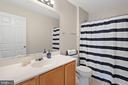 Hallway bath - 6908 SUSQUEHANNA RD, GAINESVILLE