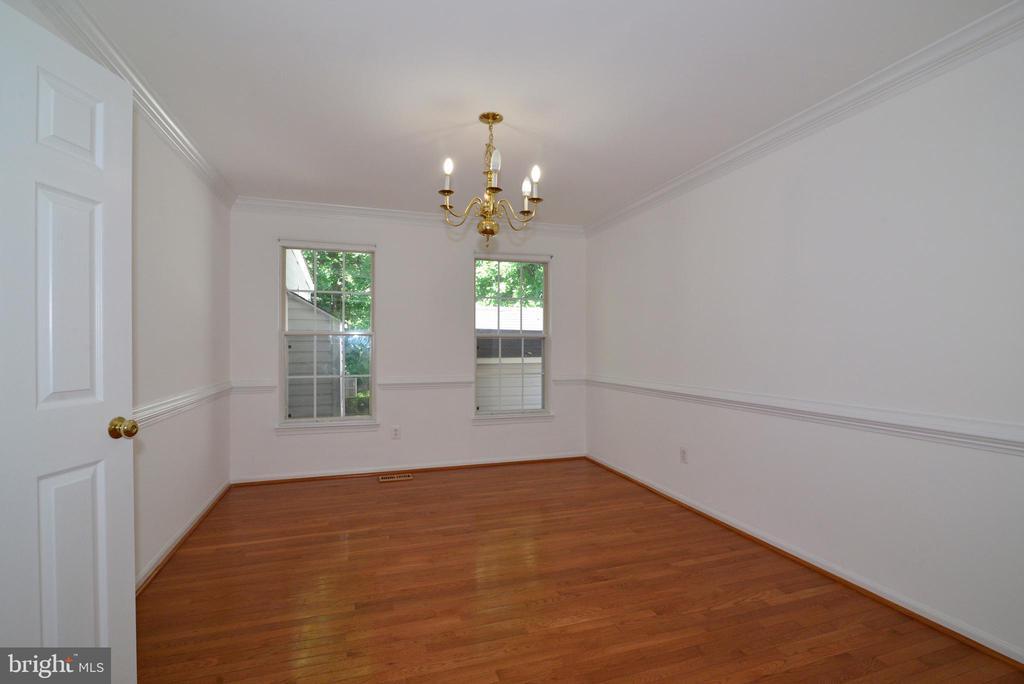 Dining room - 9306 KEVIN CT, MANASSAS PARK