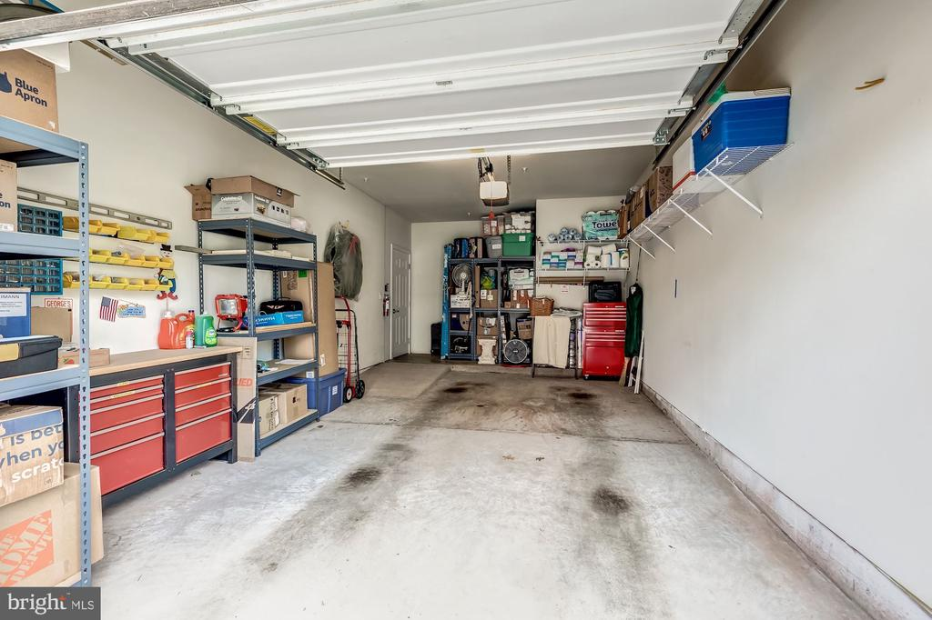 Largest garage option with extra storage space - 20660 HOPE SPRING TER #407, ASHBURN