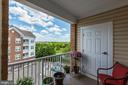 Multiple balconies - view  from top floor - 20660 HOPE SPRING TER #407, ASHBURN