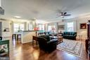Open floorplan with tons of natural light - 20660 HOPE SPRING TER #407, ASHBURN
