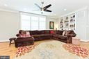 Lots of build-ins in family room - 3000 12TH ST S, ARLINGTON