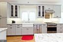 Kitchen with Viking appliances - 3000 12TH ST S, ARLINGTON