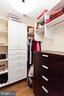 Walk in closet - 3000 12TH ST S, ARLINGTON