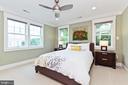 Second master bedroom in upper level - 3000 12TH ST S, ARLINGTON