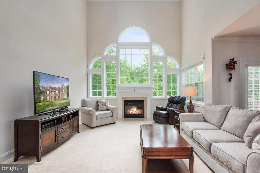 Family Room off the kitchen - 4950 CAMP GEARY LN, STAFFORD