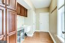 Mud Room with extra cabinets - 22584 WILLINGTON SQ, ASHBURN