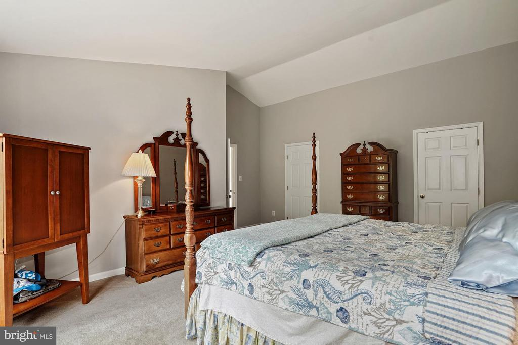 Wow. This master is so large. Vaulted ceilings - 20311 BROAD RUN DR, STERLING