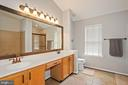 Dual vanities, and look at the counter space! - 20311 BROAD RUN DR, STERLING