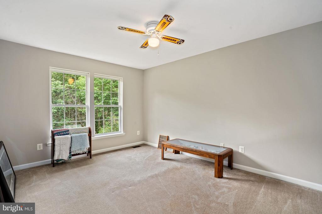 Bedroom 3 overlooks the woods - 20311 BROAD RUN DR, STERLING