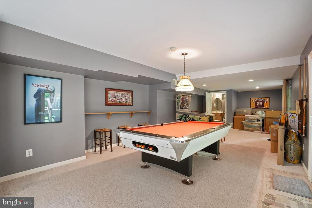 Imagine the fun you'll have in this rec. room - 20311 BROAD RUN DR, STERLING