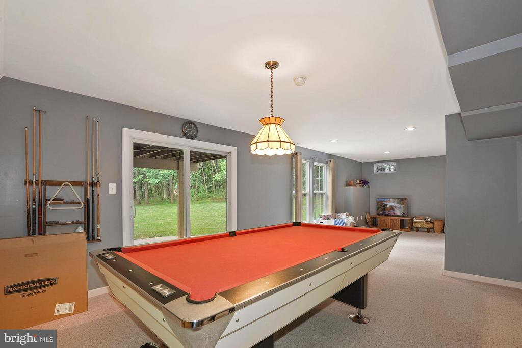 Walkout basement with patio doors AND lg windows - 20311 BROAD RUN DR, STERLING