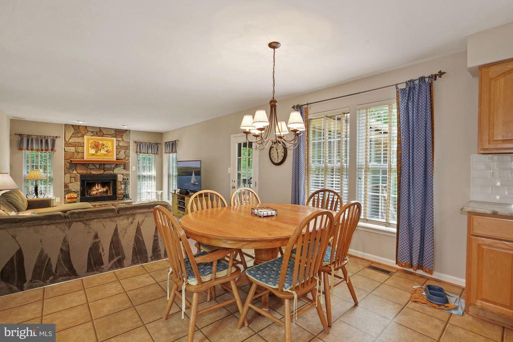 Kitchen is open to the family room - 20311 BROAD RUN DR, STERLING