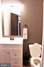 Half Bath on Main Floor - 10351 SCAGGSVILLE RD, LAUREL