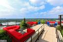 Incredible newly-remodeled rooftop lounge - 851 N GLEBE RD #1104, ARLINGTON