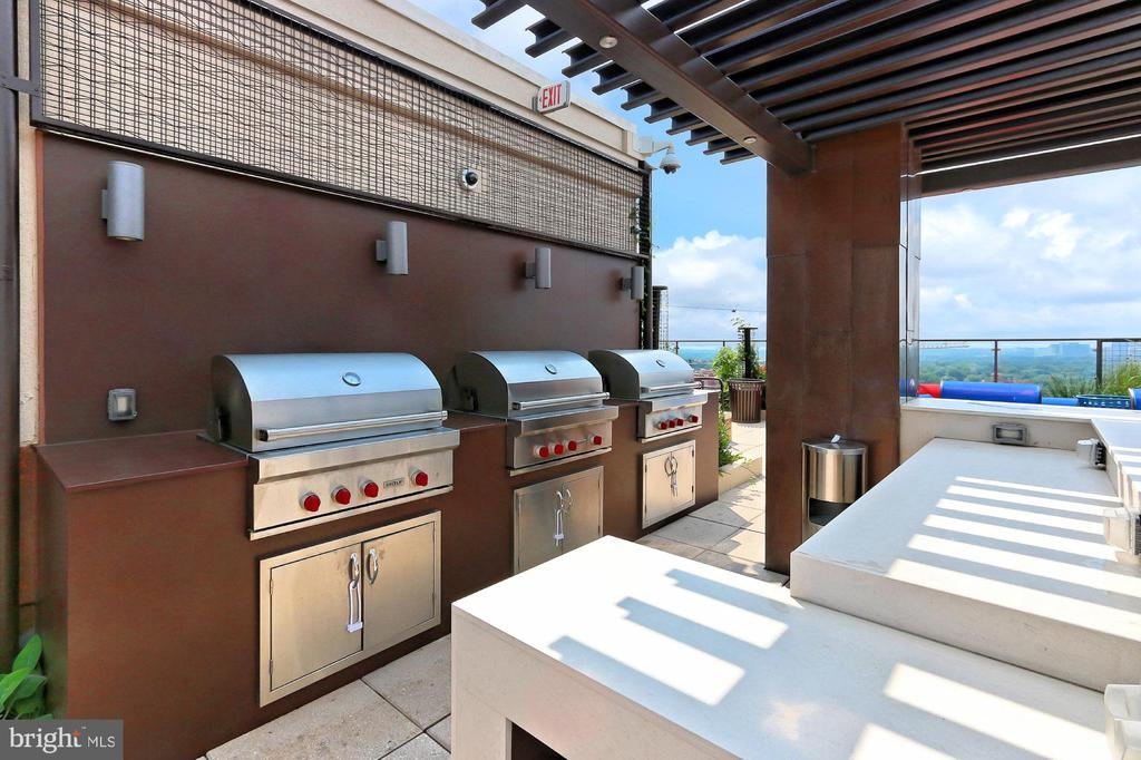 Rooftop lounge. Enjoy cooking and relaxing! - 851 N GLEBE RD #1104, ARLINGTON