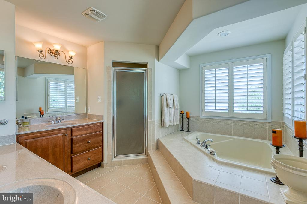 Master Bath with Soaking Tub and Sep Shower - 6 MOUNT ARARAT LN, STAFFORD