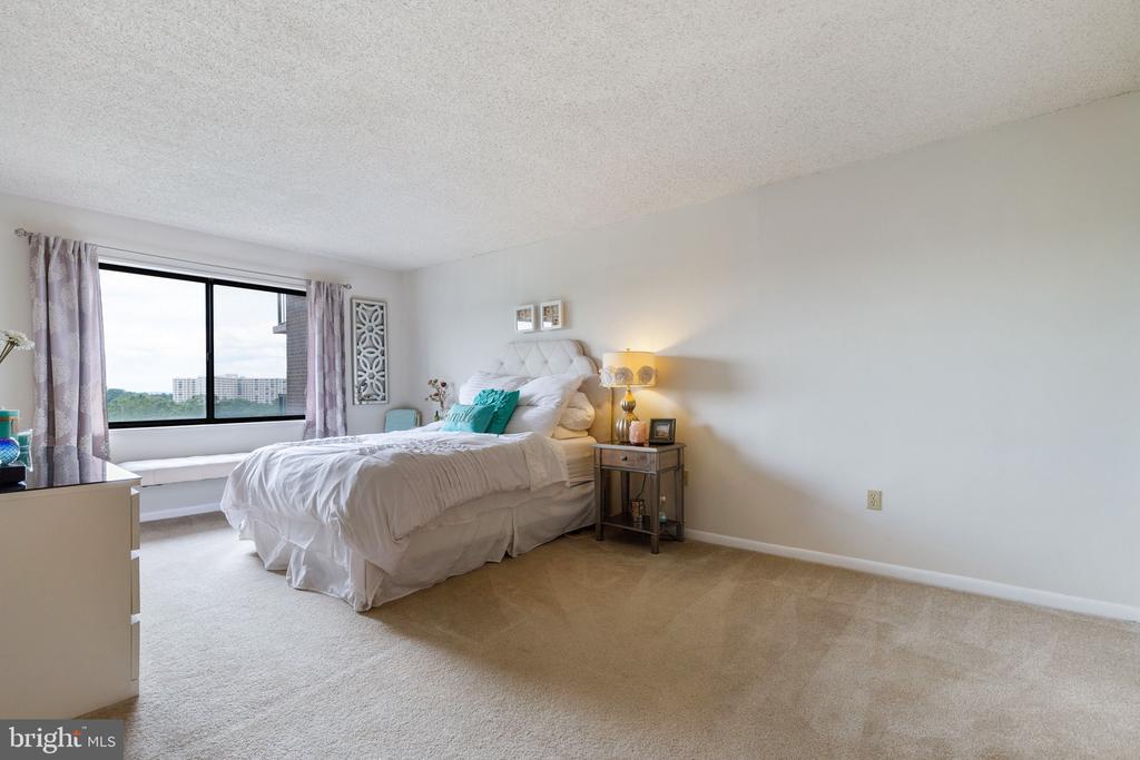Huge master bedroom! - 200 N PICKETT ST #907, ALEXANDRIA