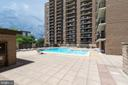 Another view of pool - 200 N PICKETT ST #907, ALEXANDRIA